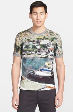 Dolce&Gabbana Port Print T-Shirt available at #Nordstrom
