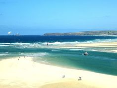Hayle offers over three miles of golden sandy beaches & is bordered by some spectacular sand dunes which are easy to get lost in.