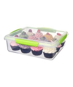Look at this Sistema Green Bakery Accents Container on #zulily today!