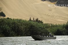 Serra Cafema Camp - View the desert adapted animals coming down to the river to sate their thirst. Desert Location, Safari Holidays, Namib Desert, Plunge Pool, The Dunes, African Safari, Atlantic Ocean, Hotel Reviews, Stargazing