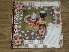 Scrapbook layout Cappuccino mascarpone