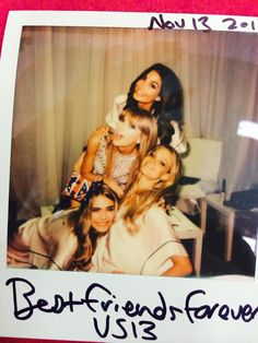 The best things always happen on the 13th! Erin Heatherton Lily Aldridge Cara Delevingne #VSFashionShow Taylor Swift's profile photo Taylor Swift