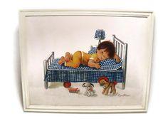 Constanza Nursery Art Print Denmark by TheRetroRemedy on Etsy, $16.00