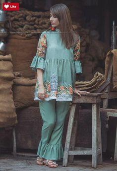 Cross Stitch Verdant alcove is part of Pakistani dress design - Stylish Dresses For Girls, Stylish Dress Designs, Casual Dresses, Simple Pakistani Dresses, Pakistani Dress Design, Pakistani Fashion Party Wear, Pakistani Outfits, Kurti Designs Party Wear, Kurta Designs