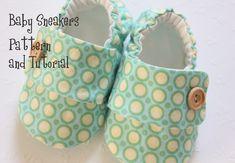 Baby Shoe Pattern - Sneakers. $4.50, via Etsy.