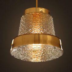 Brief Loft Creative Restaurant Bar Pendant Lamp Clear Glass Gold Aisle Hallway Bar Coffee Shop Pendant Lamps