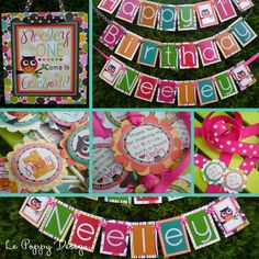 Owl Birthday Party Ideas: Owl Decorations