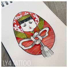 Sehr geiles japanisches Motiv aus WannaDo's von Ly4! Very cool wannado from ly4 Tattooartist!  #ly4tattoo #buntestattoo #bunt #tätowiert #livingillustrations #tattoodüsseldorf #newschool #neotrad #neotraditionaltattoo #comictattoo #japanischetattoos #japanesetattoos #sketch #instasketch #instatats #tattoosketch #tattoovorlage