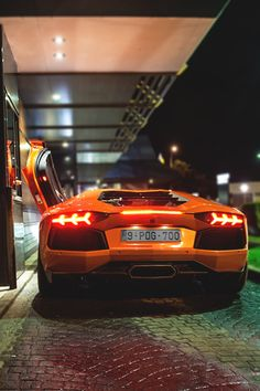 """My Lamborghini Aventador is too low for drive thru..."" 