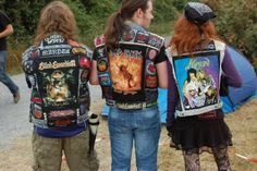 Battle jackets (although one of them happens to have a large Poison patch)