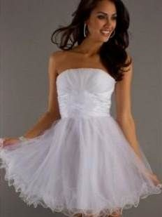 White Semi Formal Dresses for Tweens