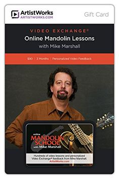 ArtistWorks Gift Card  Online Mandolin School with Mike Marshall * For more information, visit image link.Note:It is affiliate link to Amazon. #liker