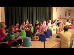 Raising The Blues - Bucket Drumming 9-12 yrs - YouTube