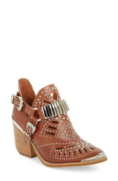 493b957dc38b Free shipping and returns on Jeffrey Campbell  Calhoun  Cutout Bootie  (Women) at