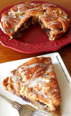 Crescent roll coffee cake is quick, easy and delicious. Wonderful with coffee fo… Crescent roll coffee cake is quick, easy and delicious. Wonderful with coffee for breakfast. Breakfast Cake, Breakfast Dishes, Breakfast Recipes, Breakfast Ideas, Chicken Breakfast, Avocado Breakfast, Morning Breakfast, Café Croissant, Recipes Using Crescent Rolls
