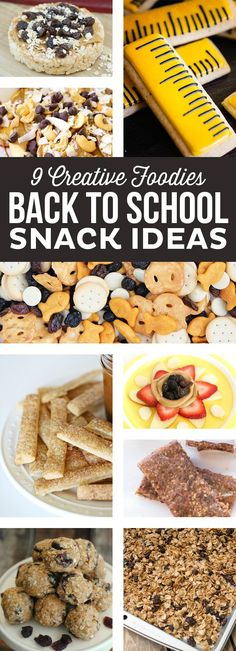 Back to School Snack