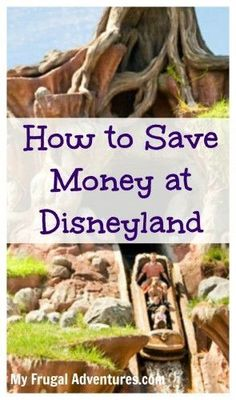 How to Save Money at Disneyland- tons of great tips to save time, money and your sanity on your next Disney Vacation!