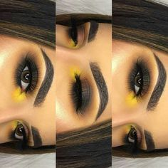 Make up ♡❤ Makeup Eye Looks, Cute Makeup, Gorgeous Makeup, Makeup Goals, Makeup Inspo, Makeup Inspiration, Baddie Makeup, Homecoming Makeup, Fall Makeup