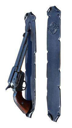 Colt 45 Custom Door Pulls - Hand Forged Door Handles Hand Forged In America Since 1913 Door Knockers, Door Knobs, Door Handles Vintage, Custom Forge, Gun Rooms, Ranch Decor, Western Homes, Door Pulls, Home Hardware