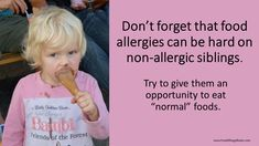 I used to occasionally take my other kid out for donuts -- and I would bring wipes and a change of clothes. #foodallergy