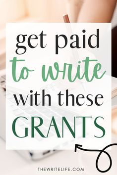 Grant Proposal Writing, Grant Writing, Book Writing Tips, Writing Resources, Writing Prompts, Freelance Writing Jobs, Business Writing, Improve Writing, Business Grants