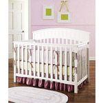 Graco - Charleston 4-in-1 Convertible Classic Crib, White $209.00