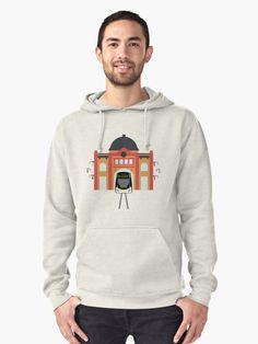 Melbourne Tram by Jollybird Designs. #Melbourne #Tram #Australia #Men #Shirt #Sweatshirt #Fashion