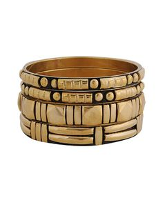 Forever 21 Etched Geo Bangles are cheap & go with everything! Forever 21, Shop Forever, Nigerian Bride, Jewelry Accessories, Fashion Accessories, Chunky Rings, Big Watches, Body Adornment, Gold Bangles
