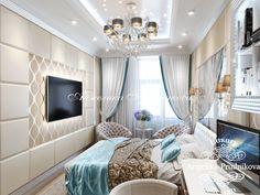 Дизайн проект интерьера детской спальни в ЖК Итальянский Квартал - фото