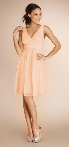 Jessie Peach Fuzz - Bridesmaid Dresses at Weddington Way ~ Bridesmaid Dress Shopping Made Simple and Social,