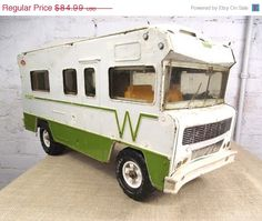 Tonka Toys Winnebago. Loved this riding it all over plus mom and dad had the real thing!