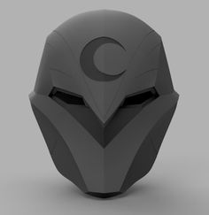 Moon Knight, Elmo, Red Hood Helmet, Small Printer, Monet Water Lilies, Knights Helmet, Crow Mask, 3d Printable Models, Armor Concept