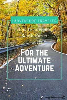 South Korea Travels For The Ultimate Adventure - 1Adventure Traveler February 4, 2018