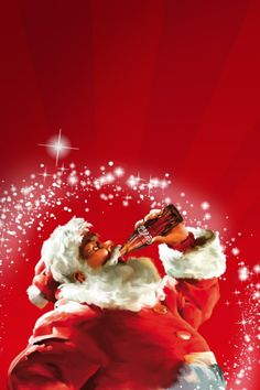 Coca-Cola Santa, why do I love you so?