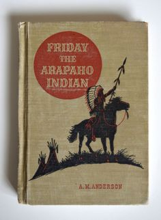 Vintage 1951 Friday The Arapaho Indian by theskinnyvintage on Etsy, $7.00