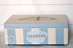 Toy Chest, Storage Chest, Decoupage, Decorative Boxes, Toys, Children, Baby, Activity Toys, Young Children