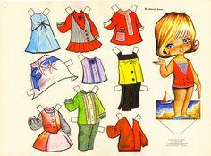Kathleen Taylor's Dakota Dreams: paper doll
