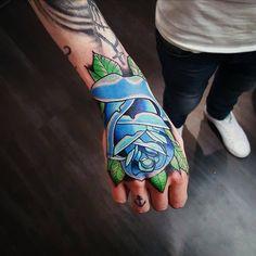 My hand tatoo :)