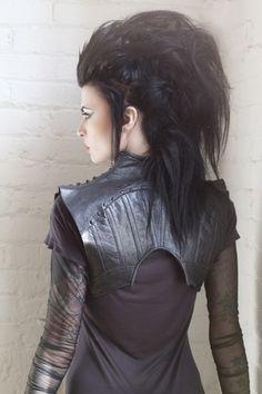"""Mother of London """"Gorkon"""" jacket.  Photo by Twink photography, model Lacy Valentine."""