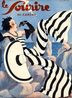 Ancienne affiche des années 30