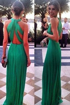 Prom Dress Beautiful, 2019 Sexy Open Back Scoop Chiffon With Ruffles A Line Prom Dresses, Discover your dream prom dress. Our collection features affordable prom dresses, chiffon prom gowns, sexy formal gowns and more. Find your 2020 prom dress Elegant Dresses, Pretty Dresses, Beautiful Dresses, Formal Dresses, Cheap Dresses, Gala Dresses, A Line Prom Dresses, Bridesmaid Dresses, Prom Gowns