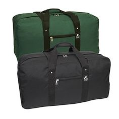 @Overstock - Everest 30-inch Cargo Duffel Bag - Keep your items safe and secure during travel with one of these large Everest bags. The bags are waterproof to protect items from rain and snow, and there is a front zippered pocket for storing items that you need to be able to access easily.    http://www.overstock.com/Luggage-Bags/Everest-30-inch-Cargo-Duffel-Bag/6030506/product.html?CID=214117  $25.50