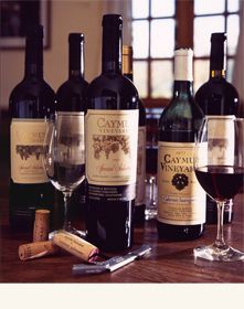 Caymus Vineyards in Rutherford