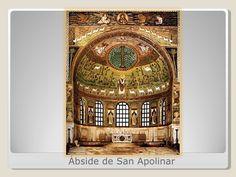 mosaicos arco triunfal y ábside San Apolinar en Classe