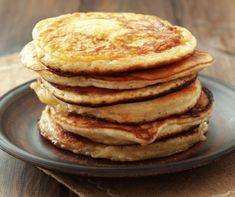 Igazi amerikai palacsinta Recept képpel - Mindmegette.hu - Receptek Protein Flapjacks, Protein Pancakes, Homemade Smoothies, Smoothie Recipes, Pancake Proteine, Smoothie Without Banana, Healthy Blender Recipes, Quick Meals, High Protein