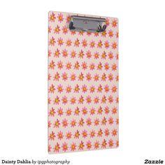 Dainty Dahlia Clipboard