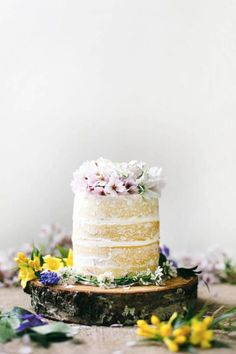 These desserts aren't necessarily ~traditional~ wedding cakes, but they'll totally add that unique factor.