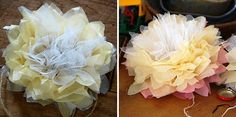 Parties, celebrations, and giant paper flowers: a perfect combo. We love these retro paper pom poms, they're easy to make and create amazing impact...