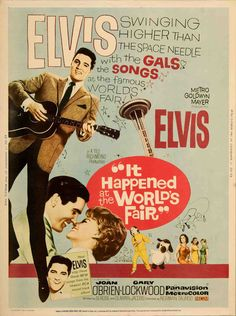 US poster for It Happened At The World's Fair