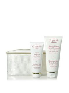 Clarins Total Body Moisture 2-Piece Gift Set with Case